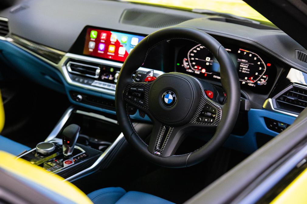 bmw m4 competition cockpit
