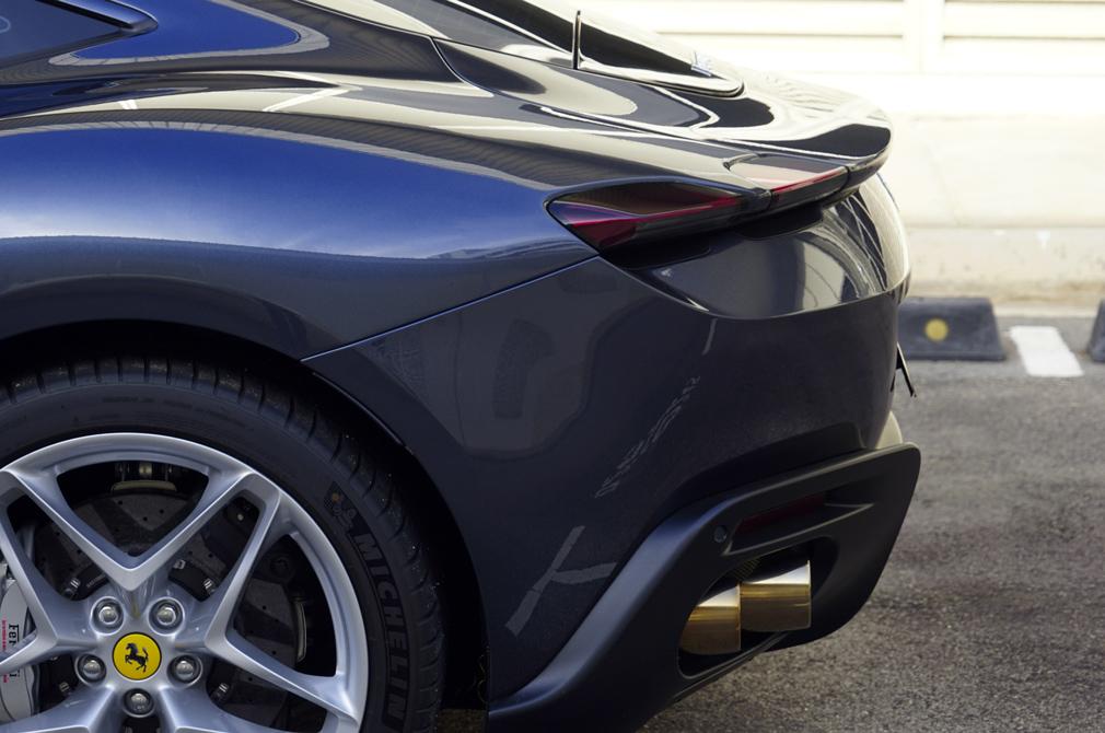 Ferrari Roma rear beauty angle