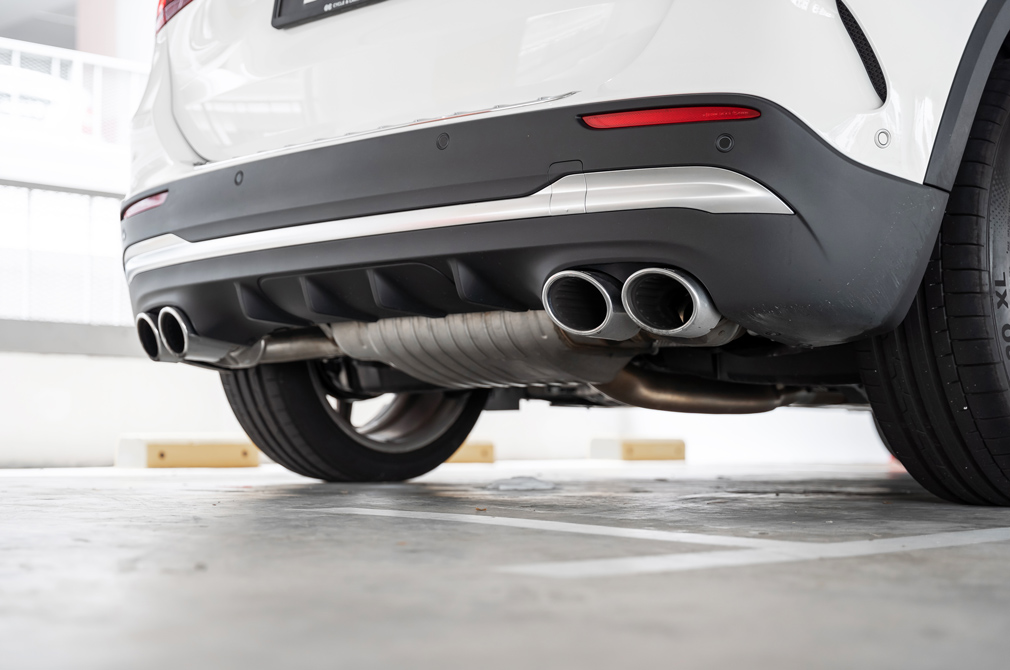 mercedes-amg gla45 s exhaust