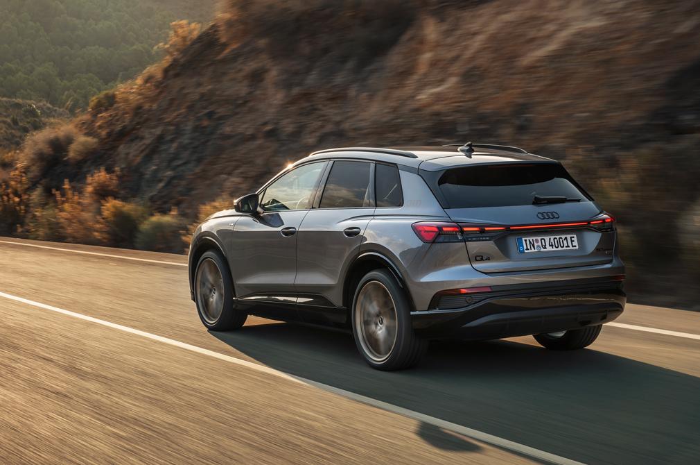 Audi Q4 e-tron tracking