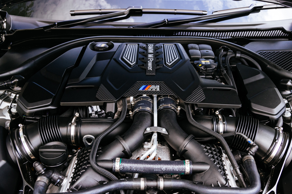 BMW M5 Competition engine V8