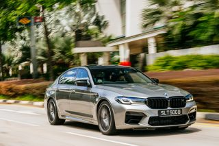 BMW M5 Competition first drive