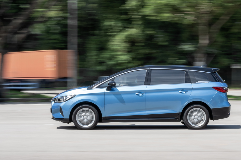 BYD e6 panning