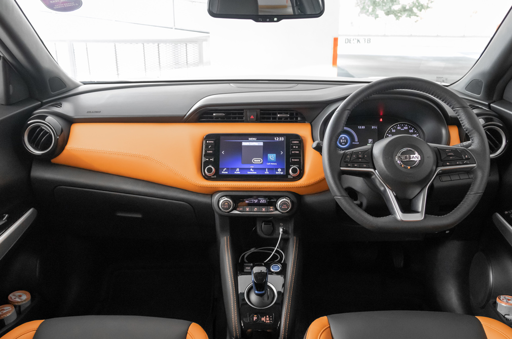 nissan kicks cockpit