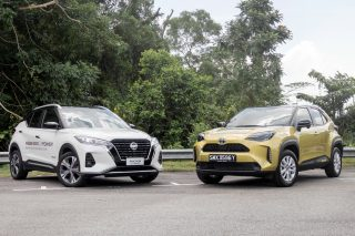 Nissan Kicks e-POWER vs Toyota Yaris Cross Hybrid Group Test