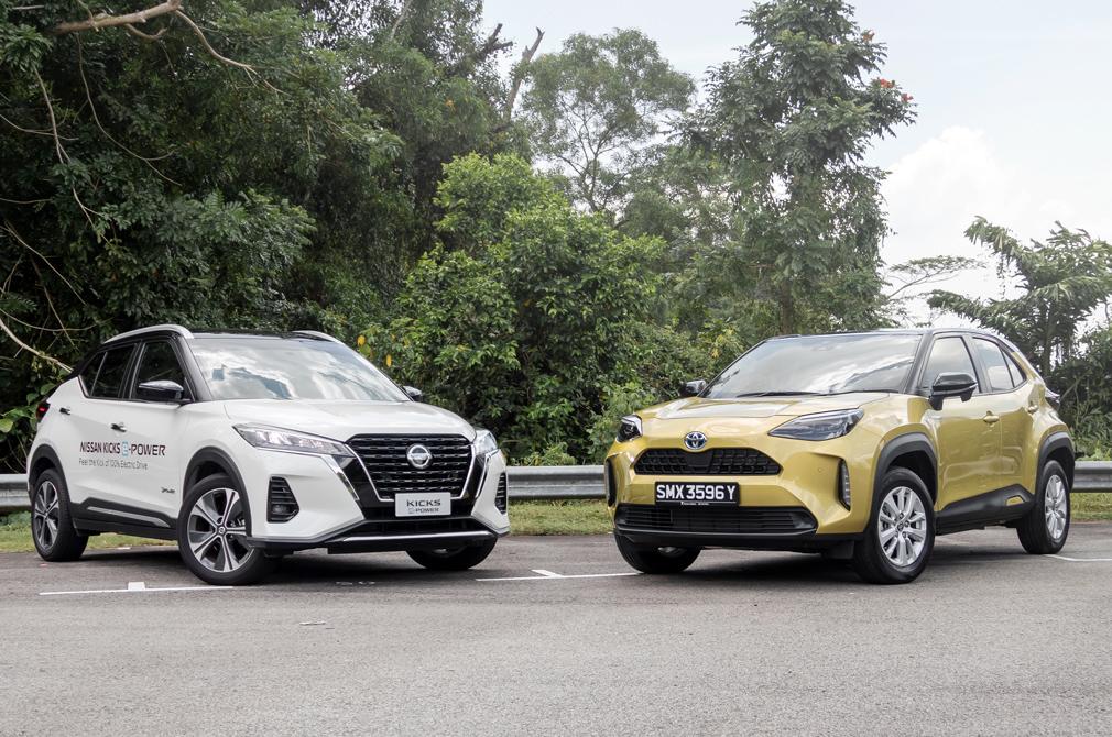Nissan Kicks e-POWER vs Toyota Yaris Cross Hybrid Group Test