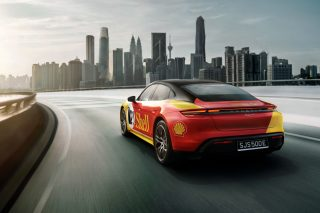 Porsche x Shell charging stations malaysia