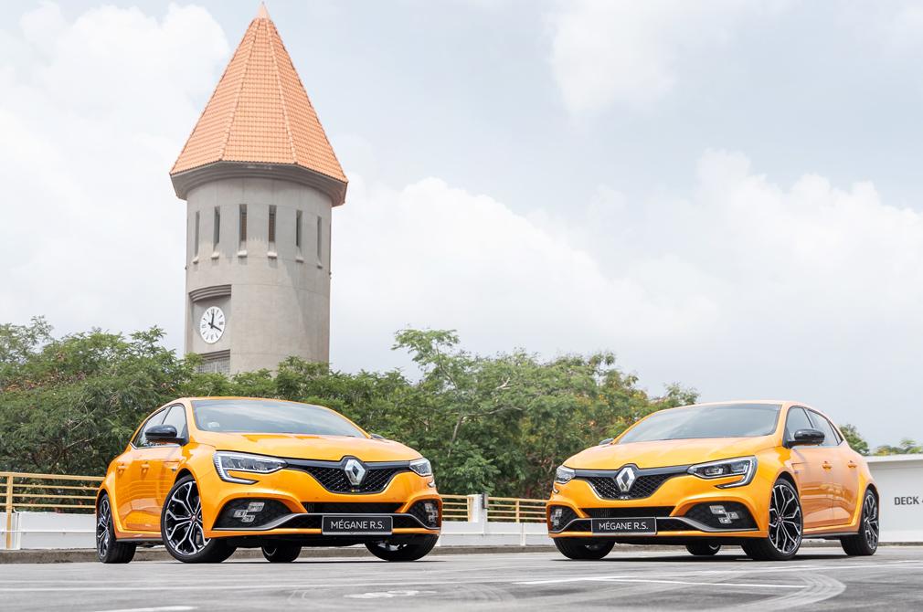 Renault Megane RS new vs old