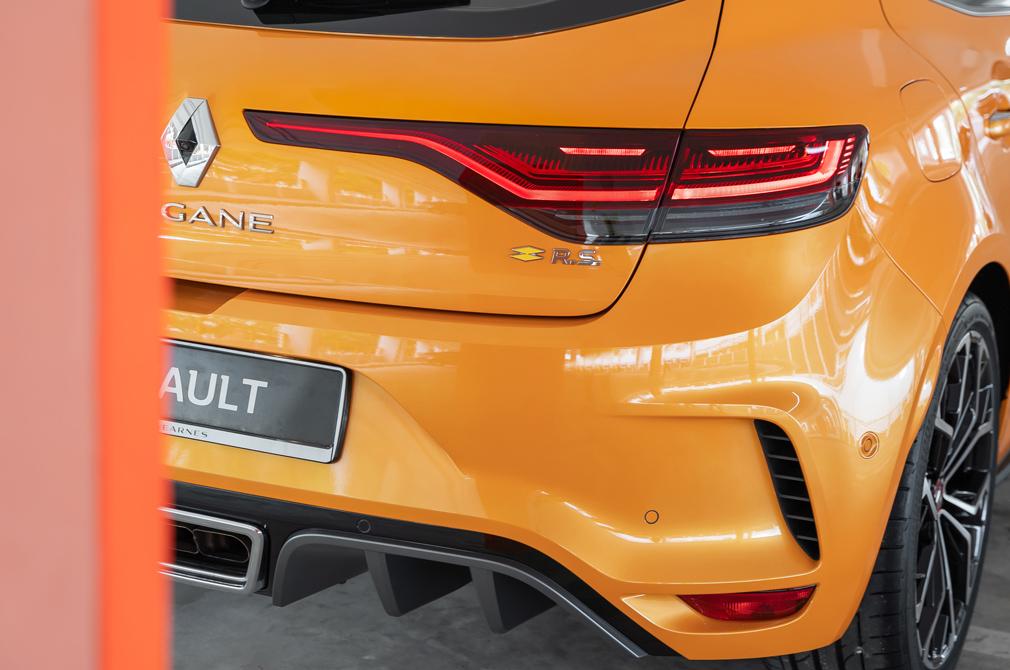 Renault Megane RS tail-lights