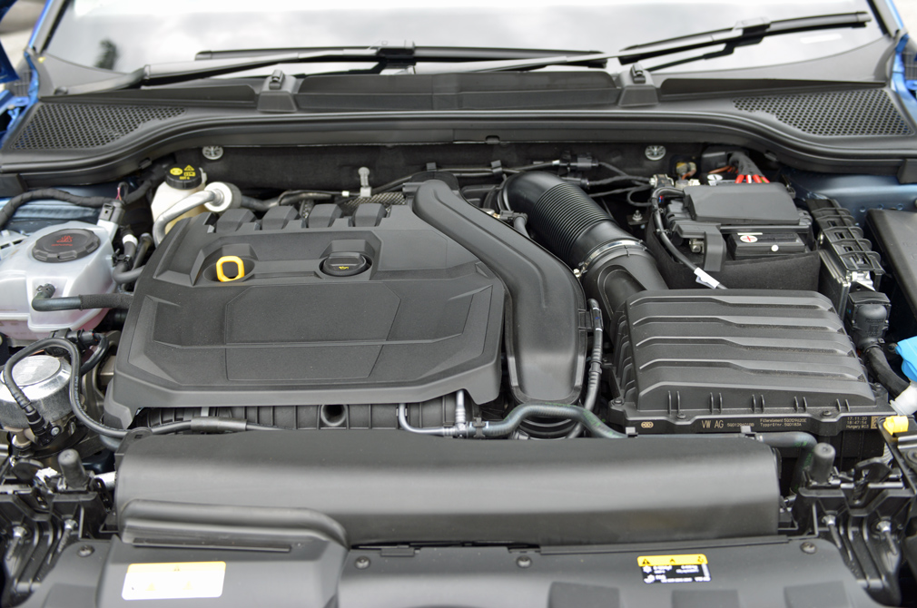 Skoda Scala engine
