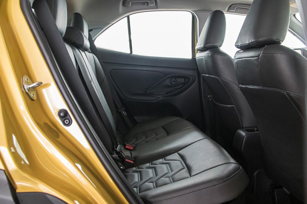 Toyota Yaris Cross Hybrid backseat
