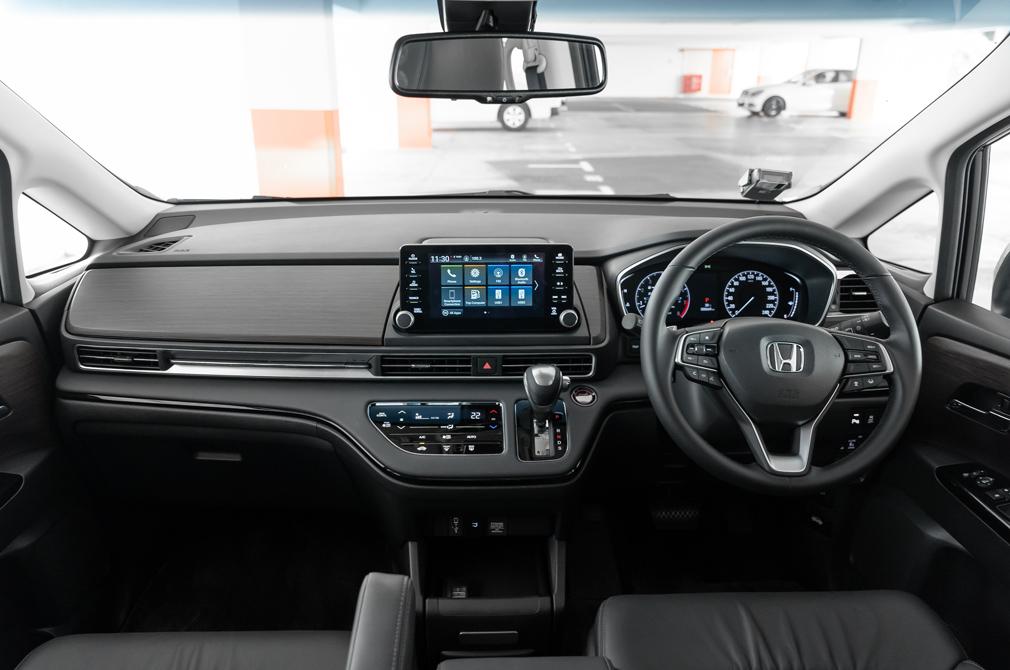 Honda Odyssey cockpit
