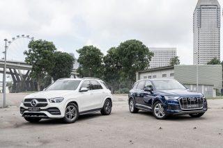 Mercedes-Benz GLE450 vs Audi Q7