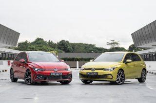 Volkswagen Golf GTI and Golf