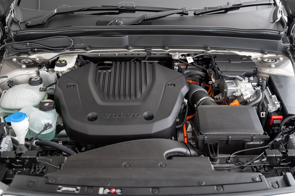 volvo xc40 recharge engine