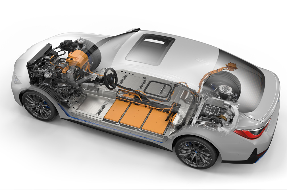 bmw i4 technical rendering