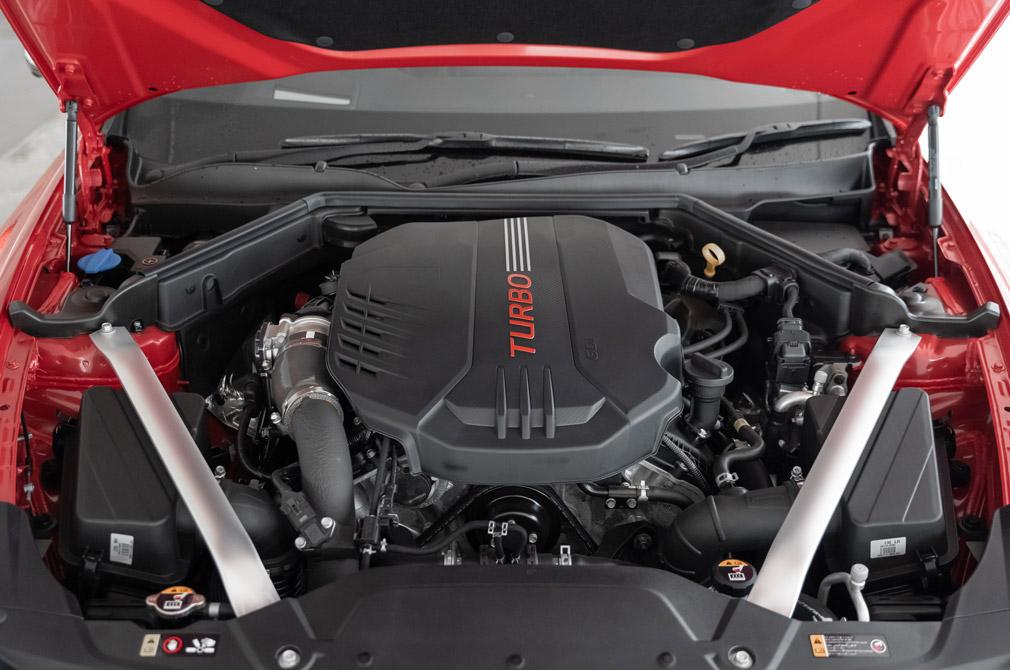 kia stinger gt engine