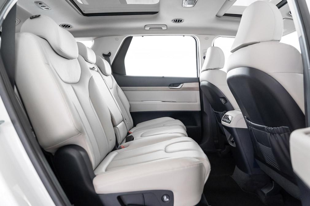 hyundai palisade backseat