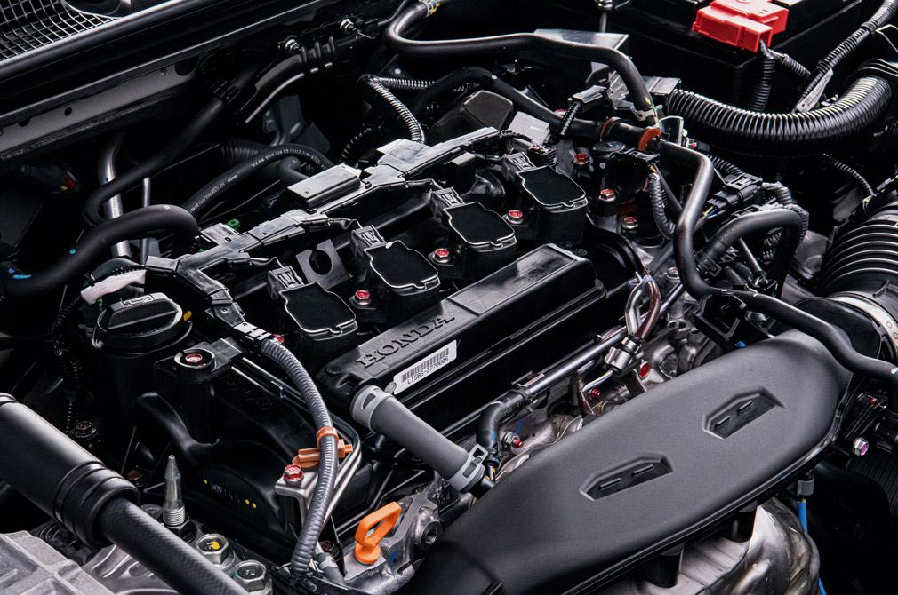 Honda Civic turbocharged 1.5-litre engine
