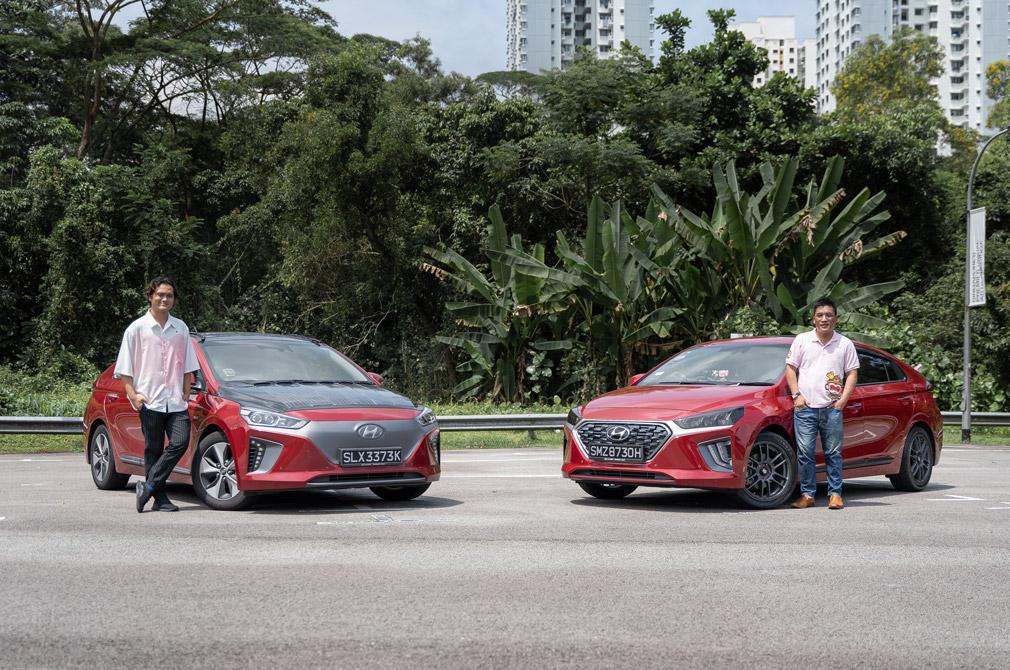 IONIQ Electric and IONIQ Hybrid