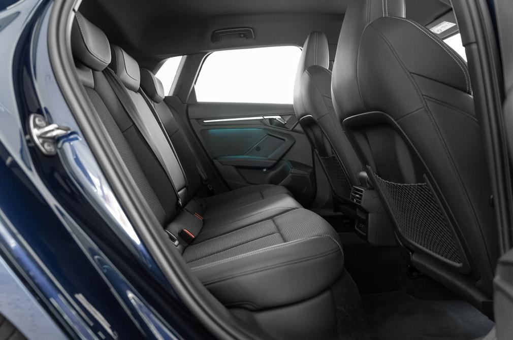 audi a3 sportback backseat