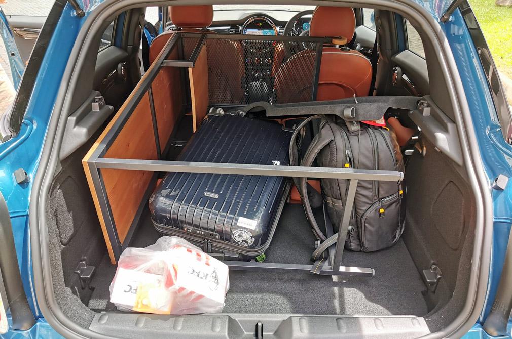 MINI One 5-Door boot space