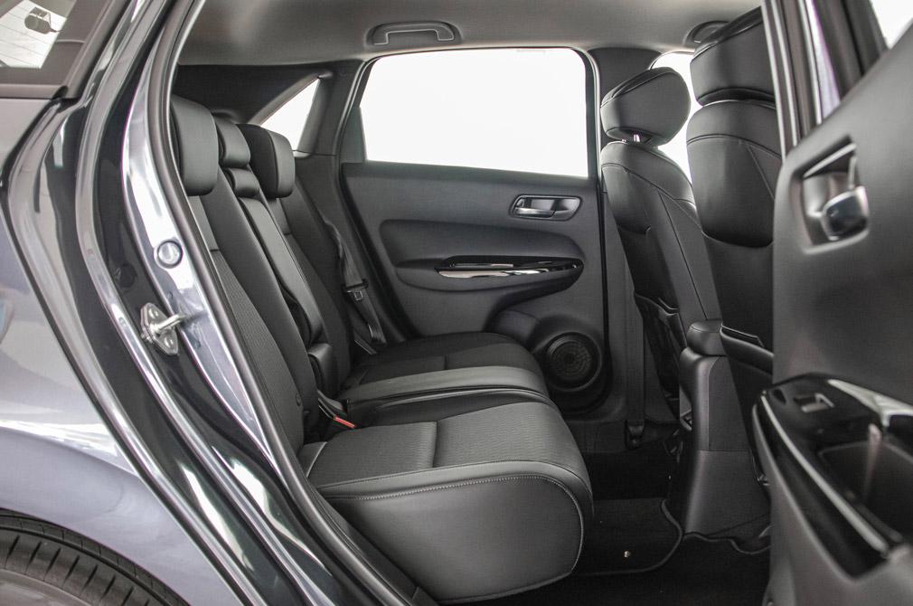 honda jazz backseat