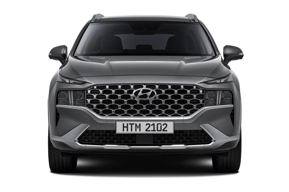 Hyundai Santa Fe Hybrid front direct