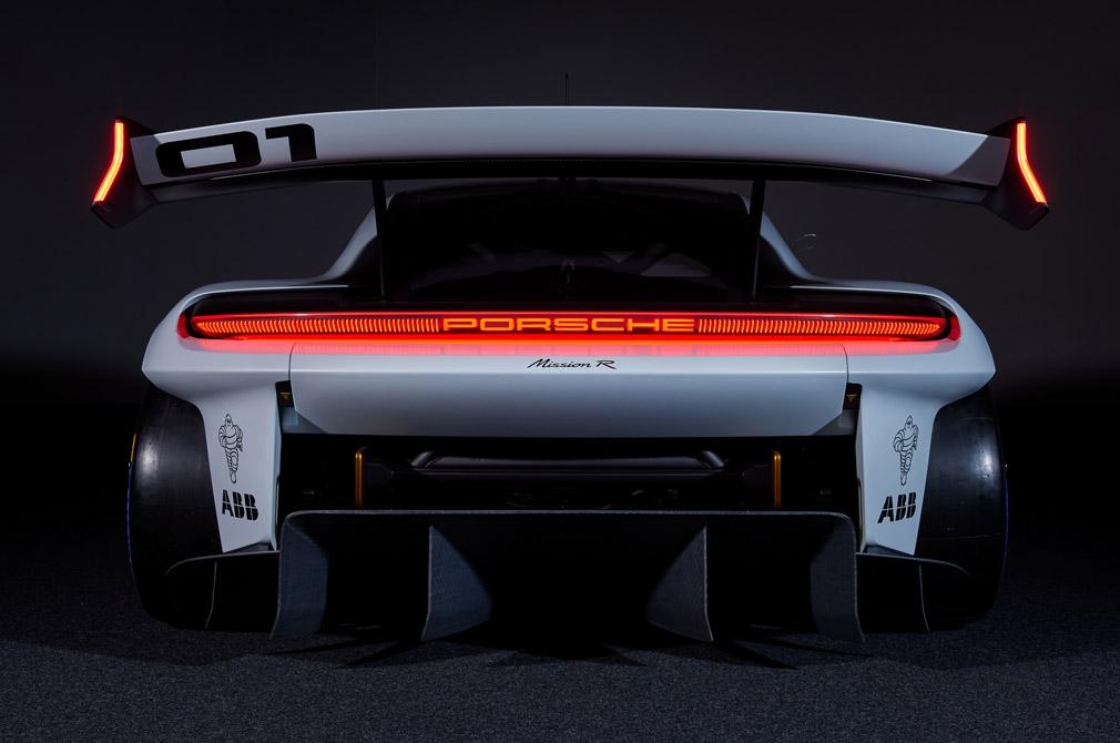 Porsche Mission R rear end 2