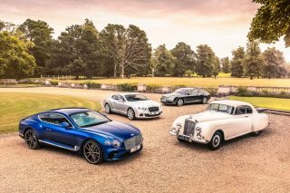 Bentley marks 70th anniversary of its design department