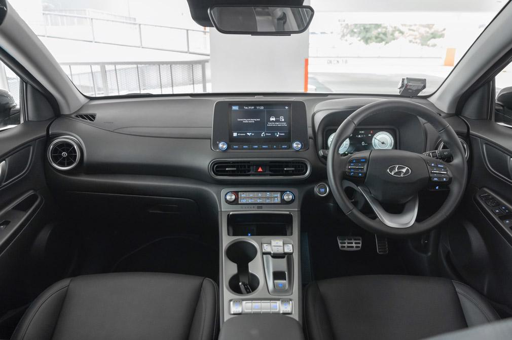 hyundai kona electric cockpit