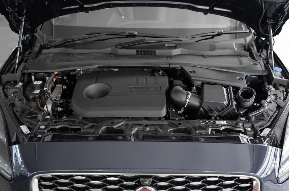 jaguar e-pace mild hybrid engine