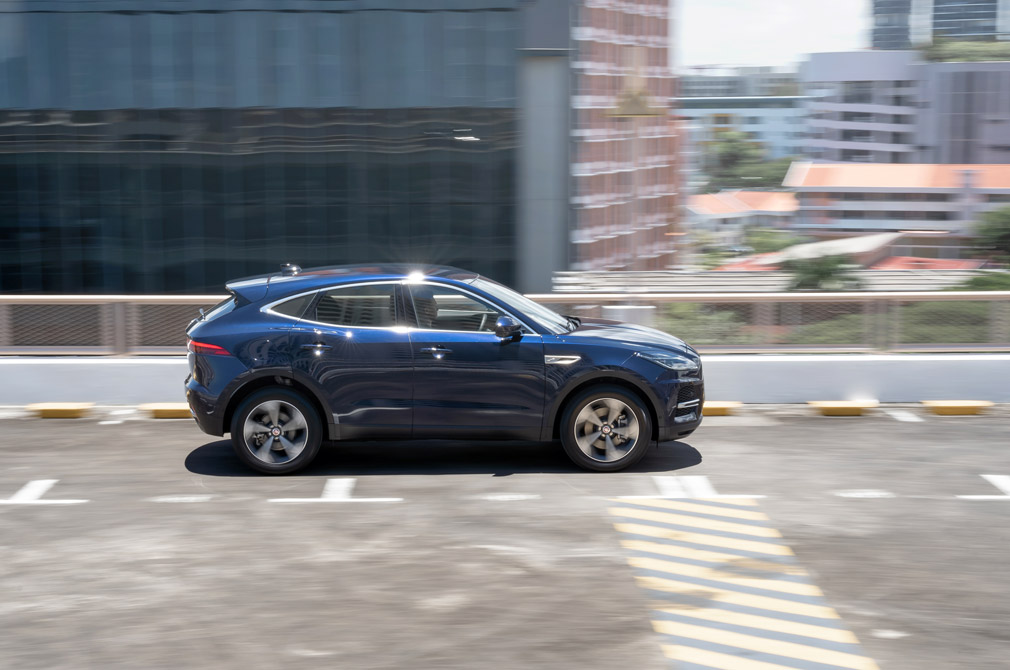 jaguar e-pace panning