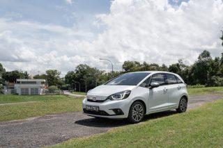 Honda Jazz e:HEV review