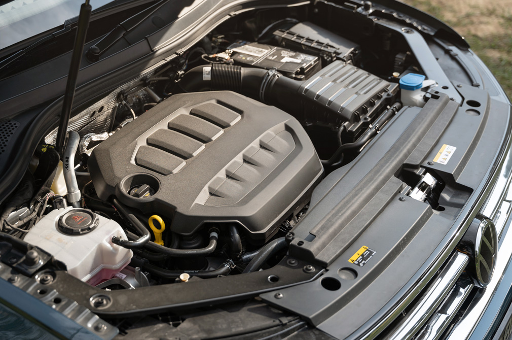 volkswagen tiguan engine