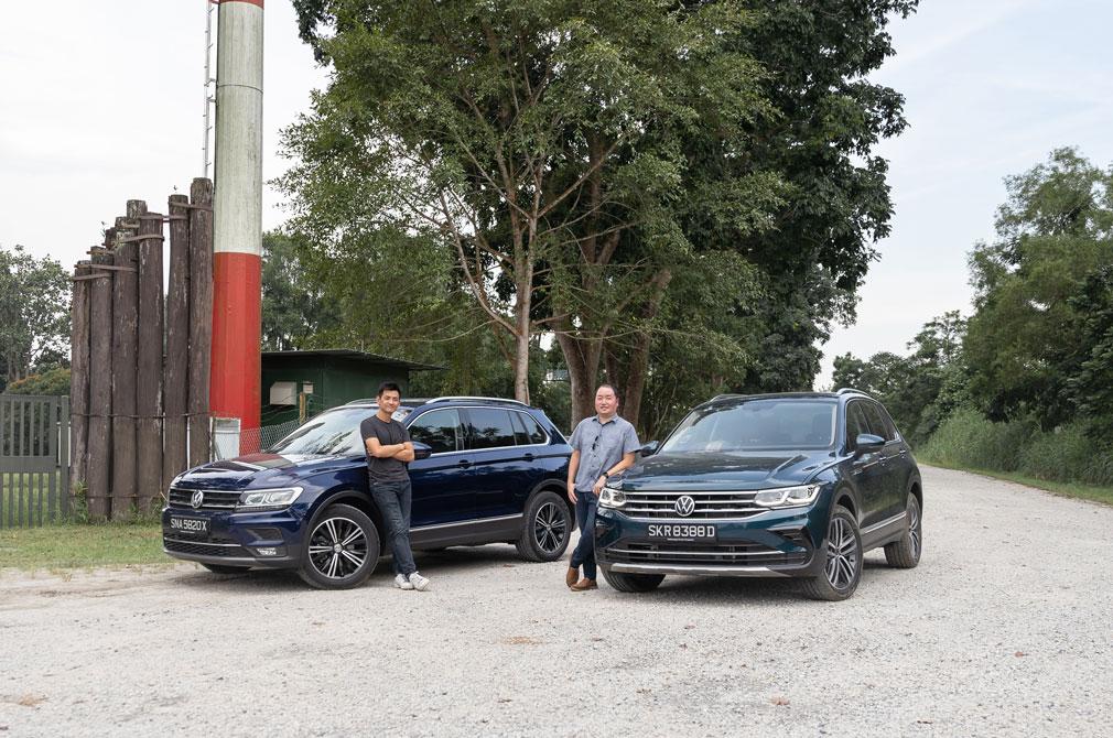 volkswagen tiguan new vs old