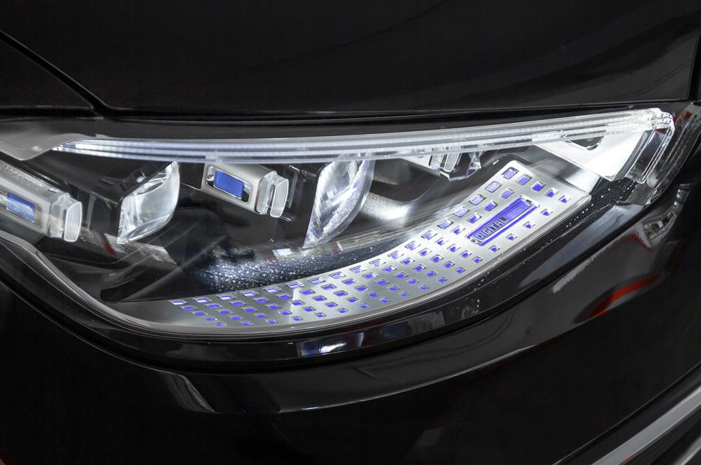 mercedes-benz s-class headlights