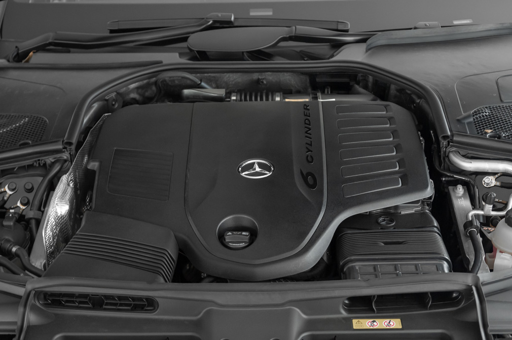 mercedes-benz s-class s450L 4matic engine